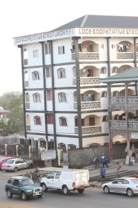 Common apartment living homes in Buea, Cameroon